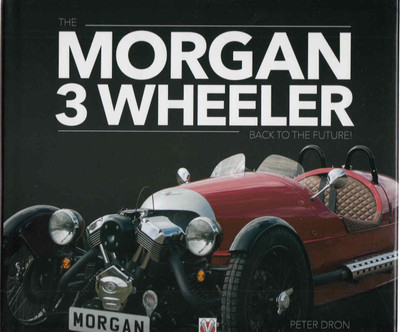 Morgan 3 Wheeler: Back To The Future - front