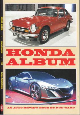 Honda Album - An Auto Review Book No. 110  - front