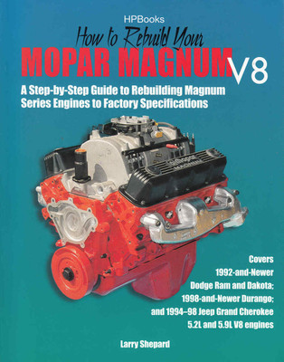 How to Rebuild Your Mopar Magnum V8 - front