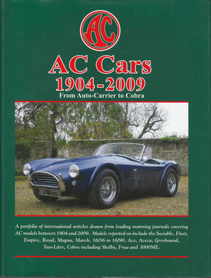 AC Cars 1904-2009 From Auto-Carrier to Cobra - front