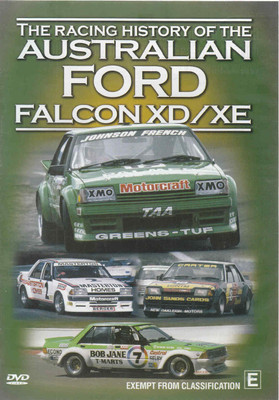 The Racing History Of The Australian Ford Falcon XD / XE DVD  - front