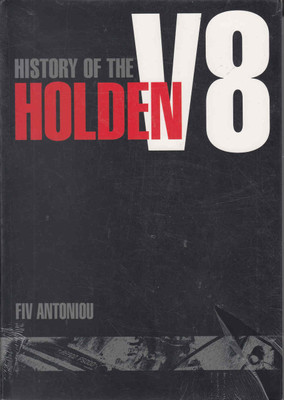 History Of The Holden V8  - Front