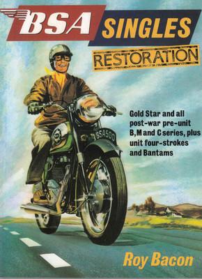 BSA Singles Restoration - Roy Bacon - front