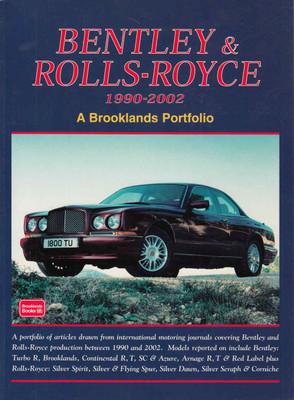 Bentley & Rolls-Royce 1990-2002 A Brooklands Portfolio Hardbound Limited Edition - front