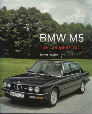 BMW M5 The Complete Story - front