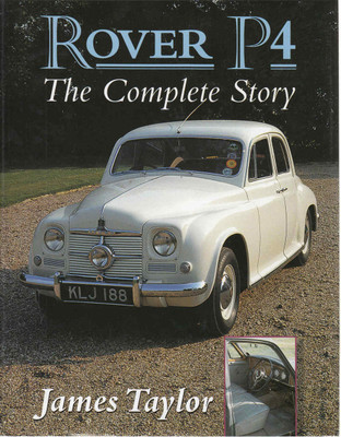 Rover P4 The Complete Story - New Edition - front
