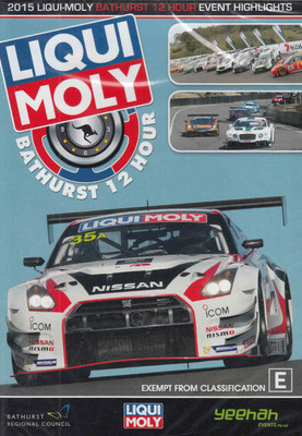 2015 Bathurst 12 Hour Highlights DVD - front
