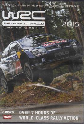 WRC FIA World Rally Championship 2015 DVD - front
