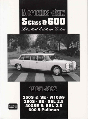 Mercedes-Benz S Class & 600 Limited Edition Extra 1965 - 1972
