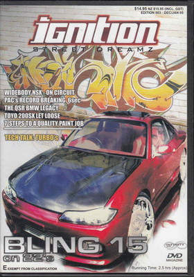 gnition Street Dreamz (Edition 003 DEC/JAN 05) DVD