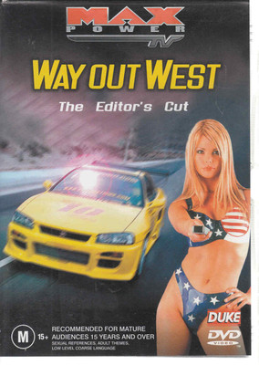 Max Power: Way Out West The Editor's Cut DVD