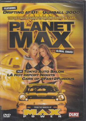 Planet Max: Global Chaos DVD (5017559036461)