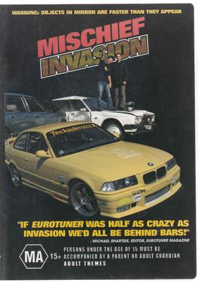 Mischief Invsion DVD