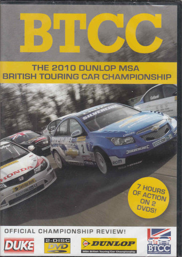 BTCC The 2010 Dunlop MSA British Touring Car Championship DVD