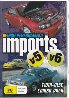 High Performance Imports V5 & V6 Twin-Disc Combo Pack (2x DVD Set)
