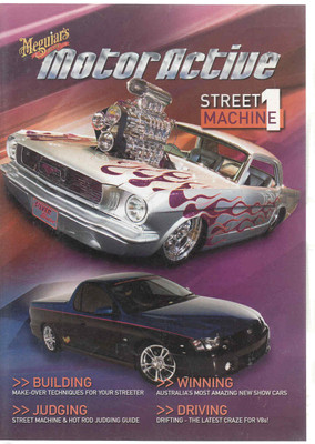 Meguiars Motor Active Street Machine 1 DVD (9321873000548)