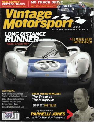 Vintage Motorsport Magazine Sep/Oct 2009 - The Journal of Motor Racing History