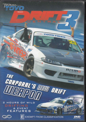 Team Toyo Drift Central 3 Edition 003: The Coropral's New Drift Weapon DVD