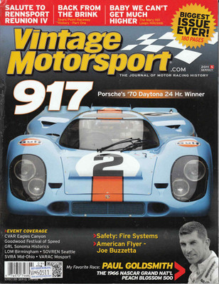Vintage Motorsport Magazine Sep/Oct 2011 - The Journal of Motor Racing History