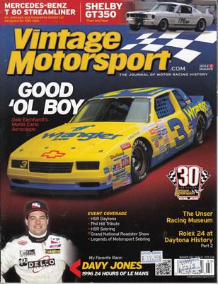 Vintage Motorsport Magazine Mar/Apr 2012 - The Journal of Motor Racing History