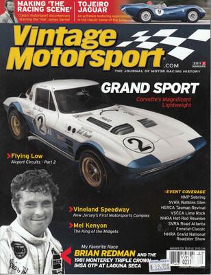 Vintage Motorsport Magazine Mar/Apr 2011 - The Journal of Motor Racing History