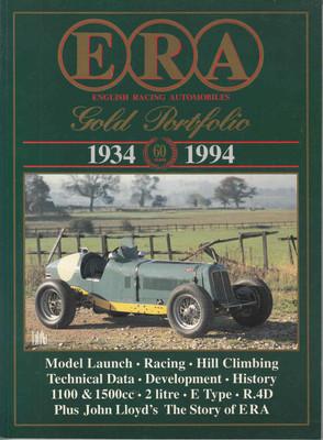 ERA English Racing Automobiles 1934-1994 Gold Portfolio - front