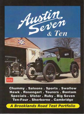 Austin Seven & Ten A Brooklands Road Test Portfolio (9781855208803) - front