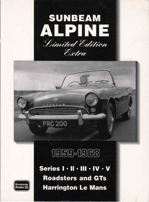 Sunbeam Alpine Limited Edition Extra 1959 - 1968 ( 9781855206861) - front