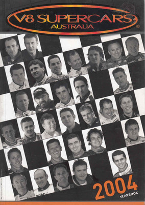 V8 Supercars Australia 2004 Yearbook ( 9771832247000) - front