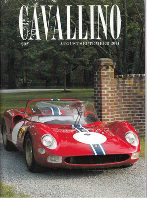 Cavallino The Enthusiast's Magazine of Ferrari Number 202 August / September 2014 (CAV202)