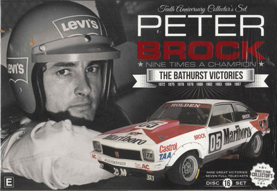 Peter Brock Tenth Anniversary Collector's Set DVD (9340601001695) - front