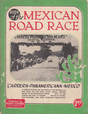 Book Of The Mexican Road Race: Carrera Panamericana Mexico (B000KBN402)