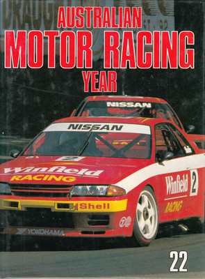 Australian Motor Racing Year Number 22 1992 / 1993 Yearbook (9770158413229)