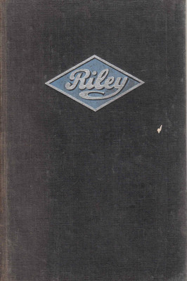 Riley Maintenence Manual 1930 - 1956 (B001102JPW) front
