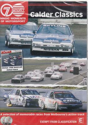 Magic Moments Of Motorsport : Clader Classics DVD (9340601001756) - front