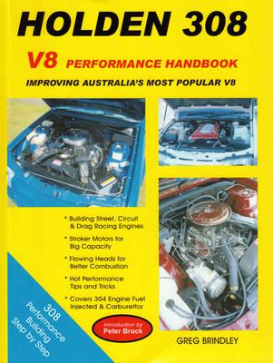 Holden 308 V8 Performance Handbook (9780947079758)  - front