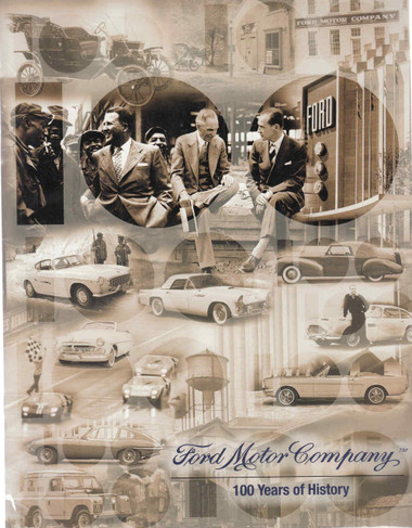 ford motor company 100 years of history book disc. Black Bedroom Furniture Sets. Home Design Ideas