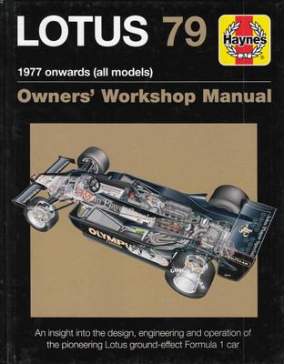 Lotus 79 1977 onwards (all models) Owners' Workshop Manual (9781785210792)
