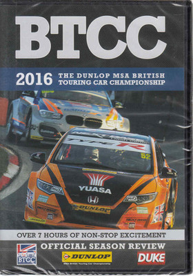 BTCC: The 2016 The Dunlop MSA British Touring Car Championship DVD