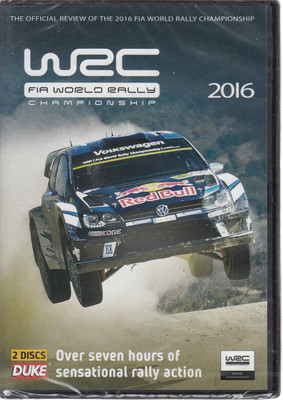 WRC FIA World Rally Championship 2016 DVD (5017559128432)