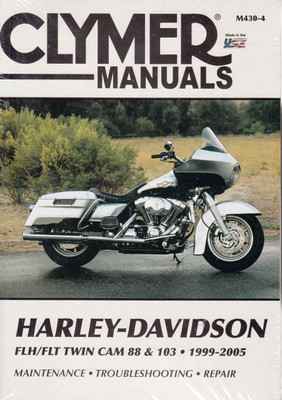 Harley-Davidson FLH/FLT Twin Cam 88 & 103 1999 - 2005 Workshop Manual (9781599690162)