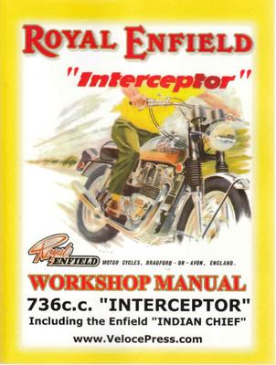 "Royal Enfield ""Interceptor: Workshop Manual ( Veloce Press 2008 Reprint) (9781588501042)"