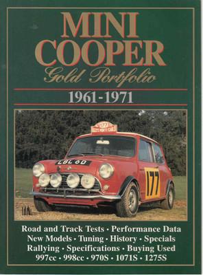 Mini Cooper Gold Portfolio 1961 - 1971 (9781855200524)