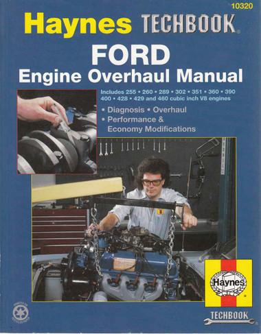Ford Engine Overhaul Manual (Techbook Series) (9781850107637)