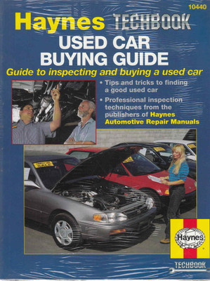 Used Car Buying Guide: Guide to inspecting and buying a used car (Techbook Series) (038345104404)