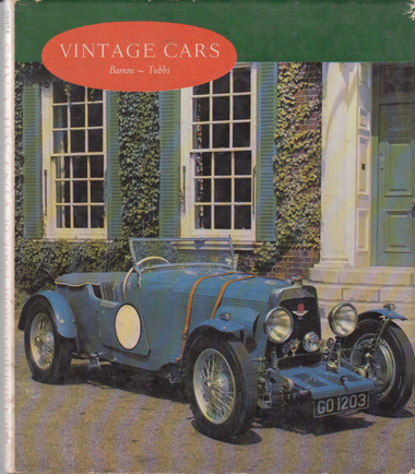 The Batsford Colour Book Of Vintage Cars (B0013SPJ4A)