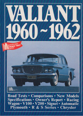 Valiant 1960-1962 Road Tests (9781855200913)
