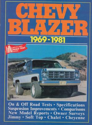 Chevy Blazer 1969-1981 Road Tests (9781855200463)