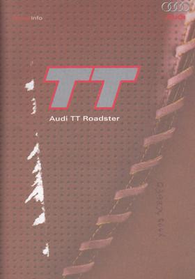 Audi TT Roadster - Press Info Kit 2002 (TTPRESSINFO)