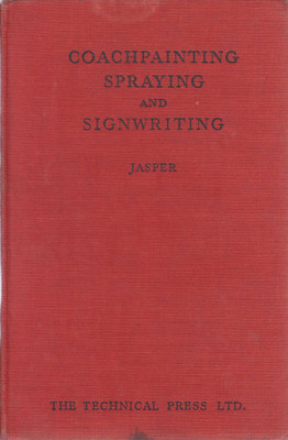 Coachpainting, Spraying and Signwriting (Cecil Jasper 1949)